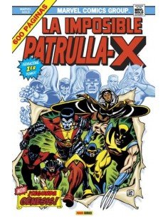 LA IMPOSIBLE PATRULLA-X 1....