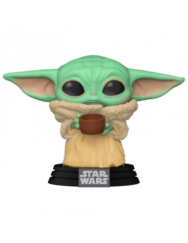 FUNKO POP! THE CHILD with CUP - THE...