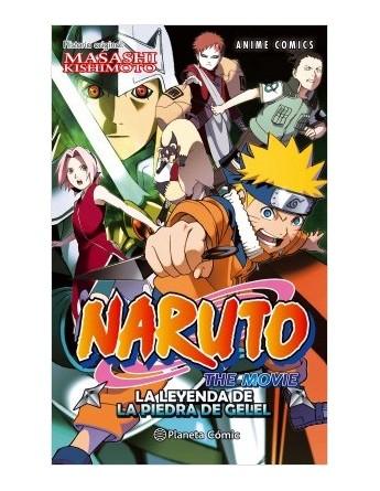 NARUTO ANIME COMIC Nº03