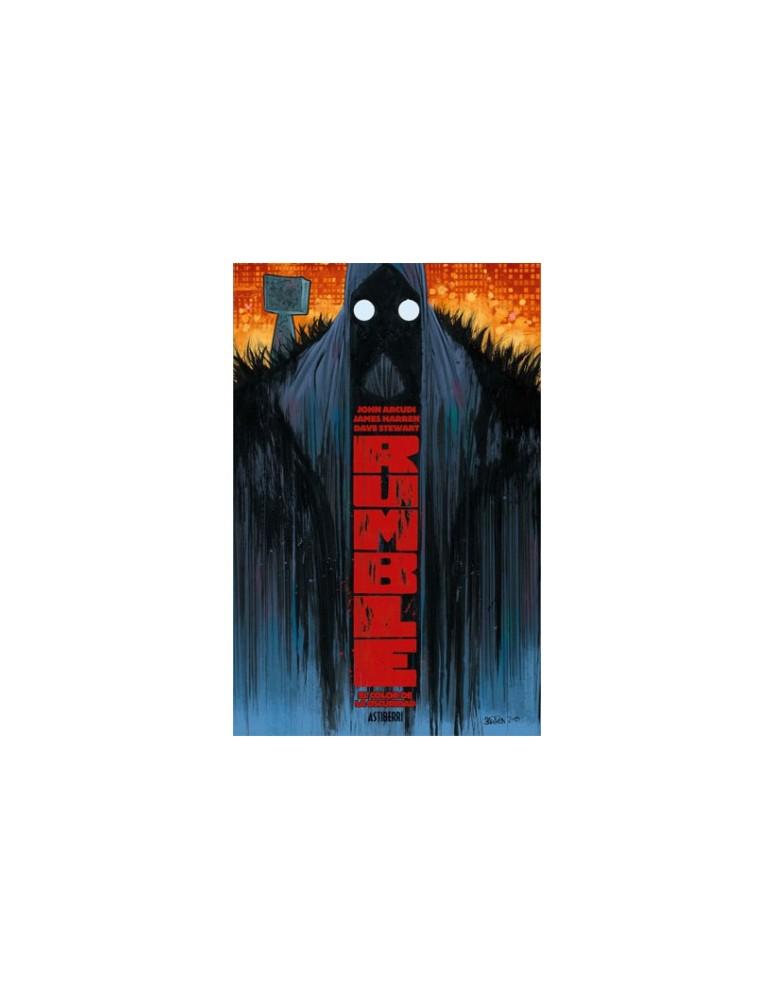 RUMBLE TOMO 01: EL COLOR DE LA OSCURIDAD
