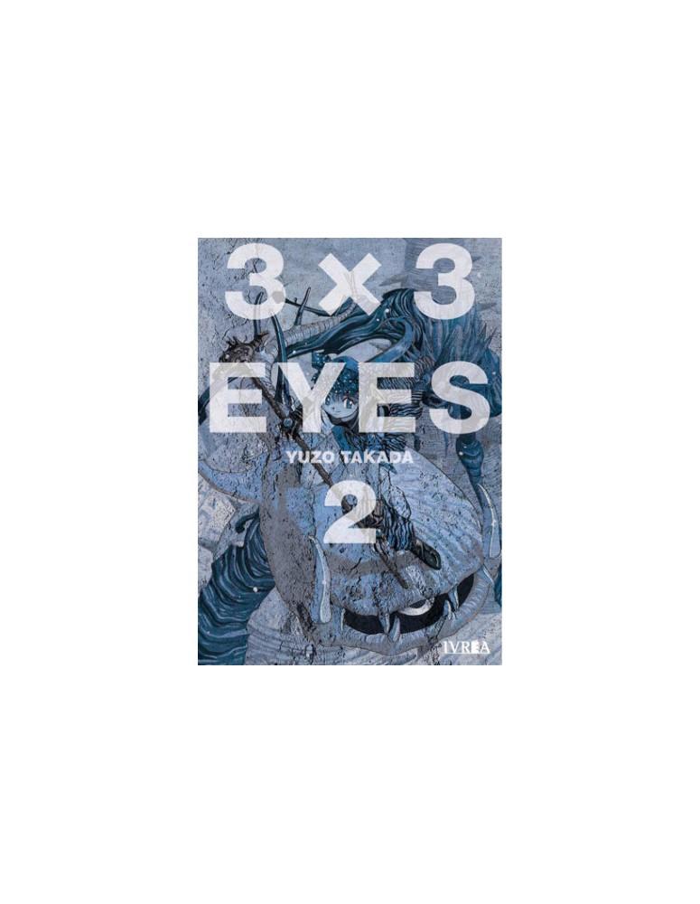 3X3 EYES VOL 02