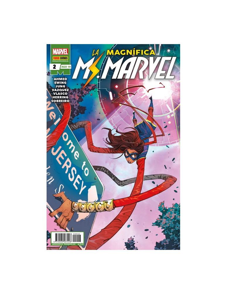 LA MAGNÍFICA MS. MARVEL Nº 02