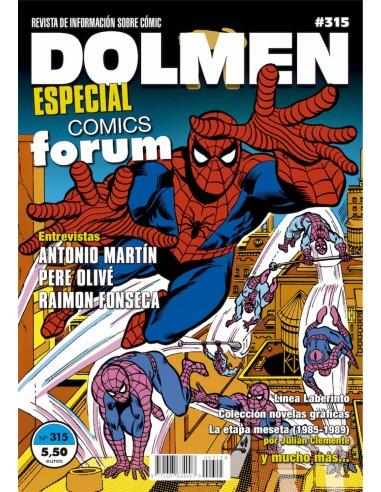 DOLMEN 15. ESPECIAL COMICS FORUM