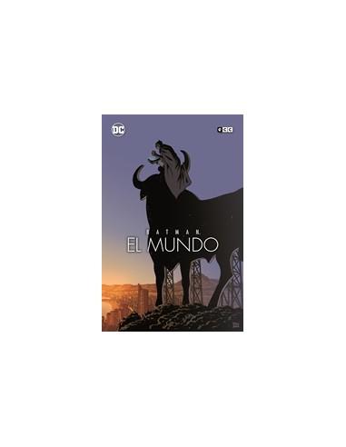 BATMAN: EL MUNDO - PORTADA PACO ROCA
