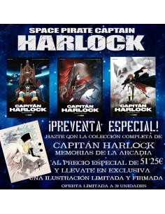 CAPITÁN HARLOCK - MEMORIAS...