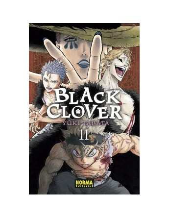 BLACK CLOVER Nº 11