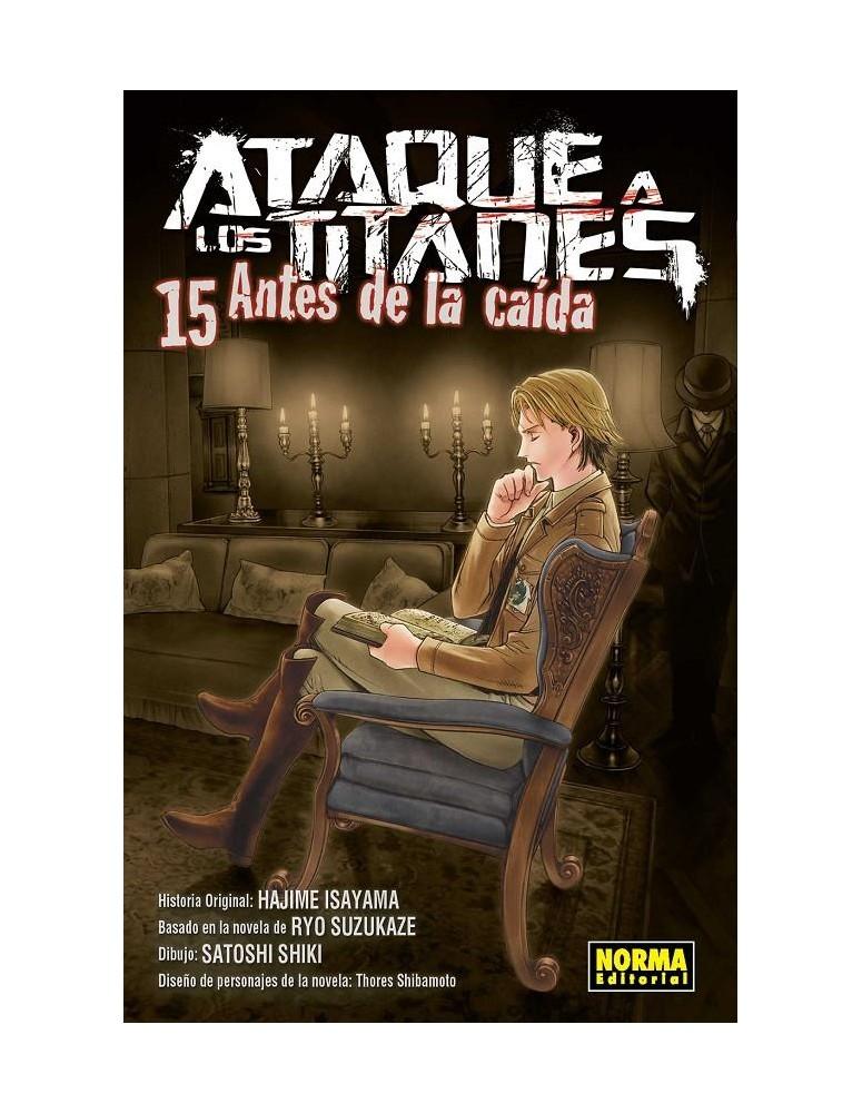 ATAQUE A LOS TITANES: ANTES DE LA...
