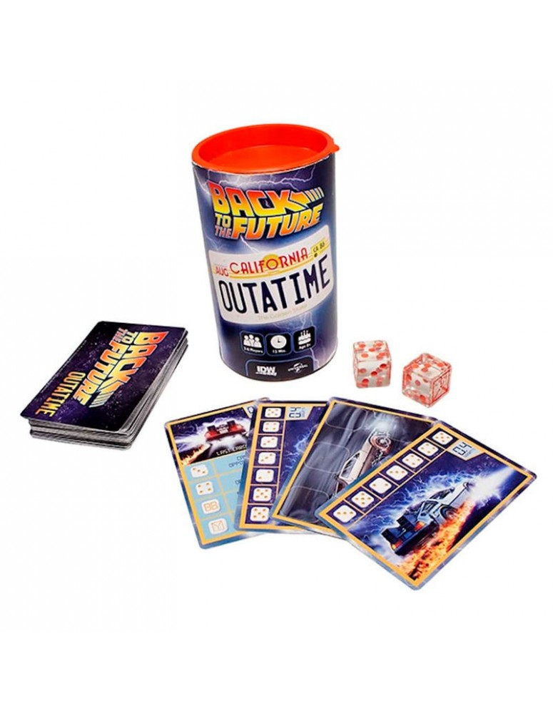 BACK TO THE FUTURE JUEGO
