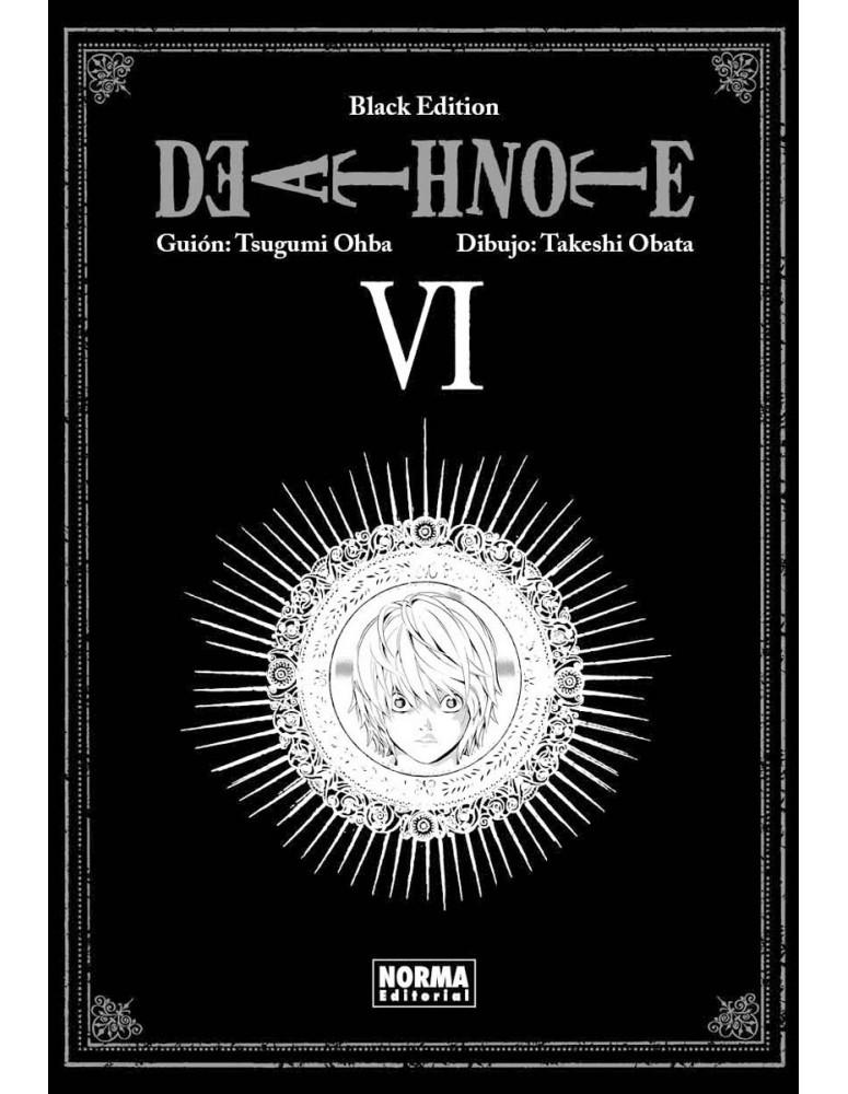 DEATH NOTE BLACK EDITION Nº 06
