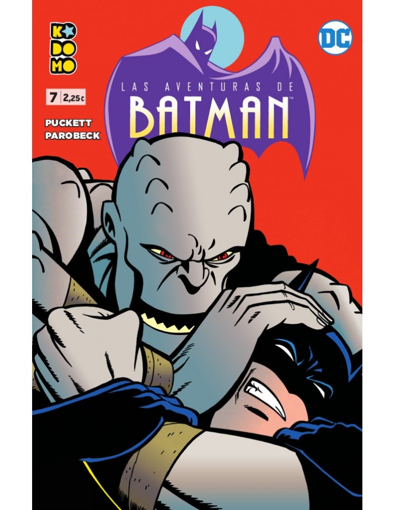 LAS AVENTURAS DE BATMAN Nº 07