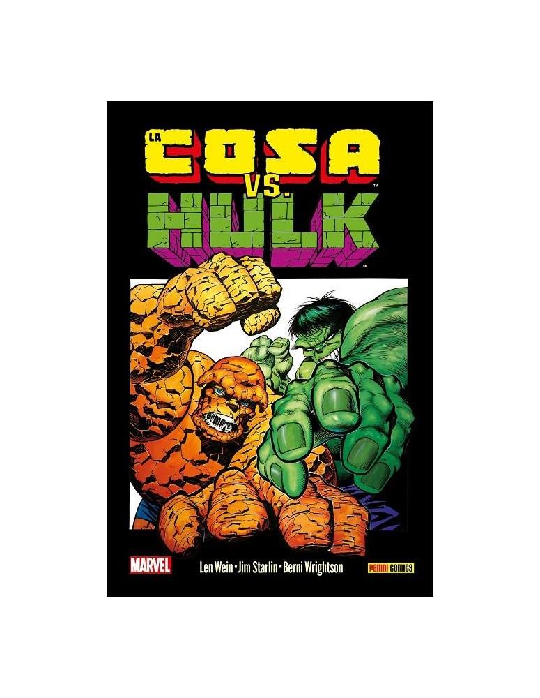 HULK VS. LA COSA. GRANDES TORTAS