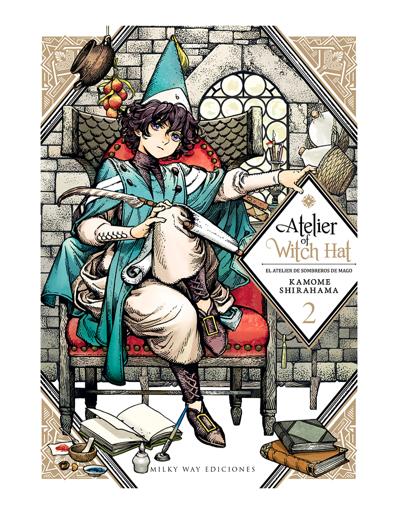 ATELIER OF WITCH HAT VOL. 02