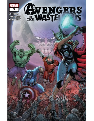 AVENGERS OF THE WASTELANDS  3 (OF 5)
