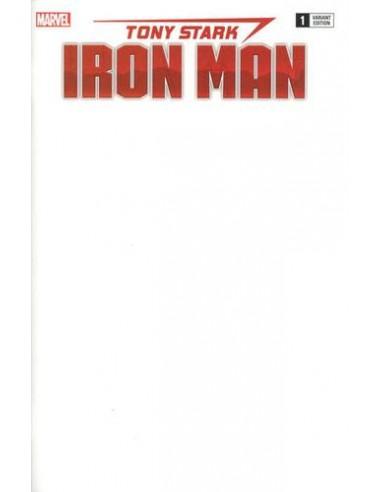 TONY STARK IRON MAN 1 BLANK VAR
