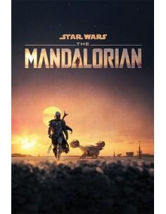 POSTER THE MANDALORIAN DUSK...