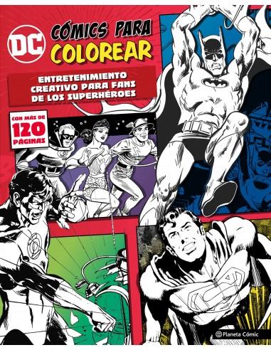 DC COMICS - COLOREA SUPERHEROES 01