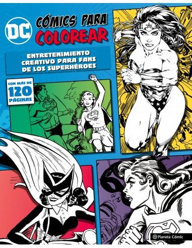DC COMICS - COLOREA SUPERHEROINAS