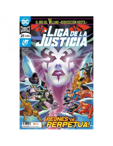 Liga de la Justicia 21 / 99