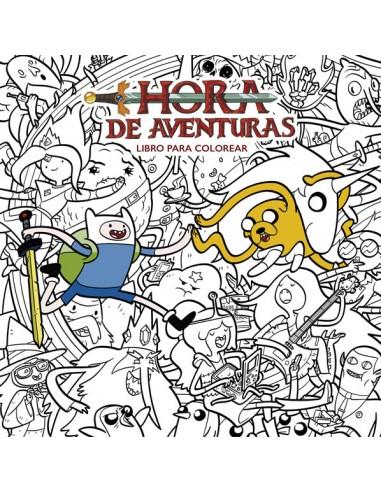 HORA DE AVENTURAS: LIBRO PARA COLOREAR