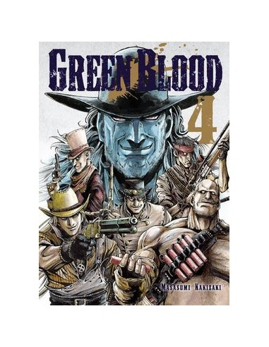 GREEN BLOOD (VOL. 4)