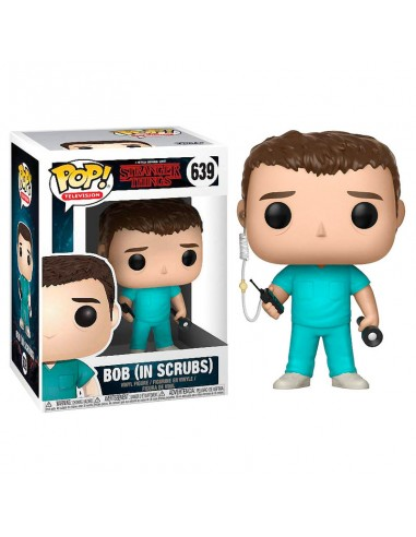 FUNKO POP! Stranger Things Bob in Scrubs