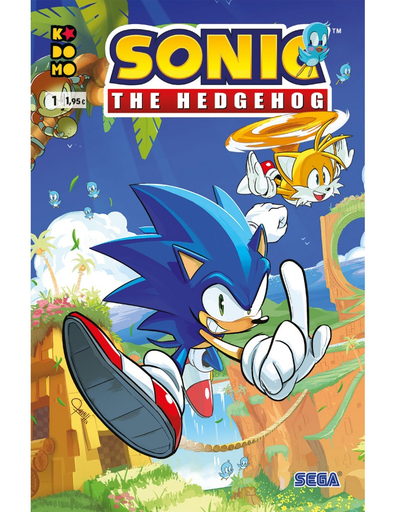 SONIC THE HEDGEHOG Nº 01